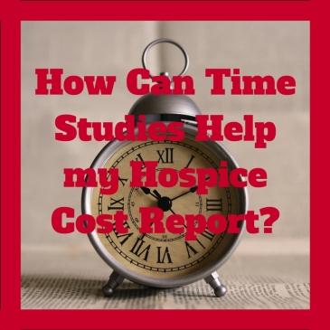 How can time studies help my hospice cost report?