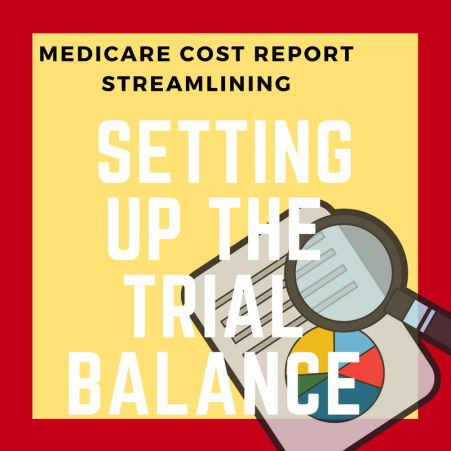 Setting Up the Trial Balance for the Medicare Cost Report