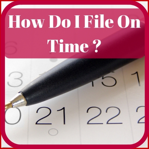How To Submit On Time Electronically